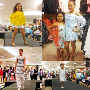 20 Barbizon Southwest preteen models were selected to walk in the Dillard's Fashion Show for children's Spring fashions