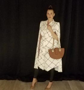 Alana, Barbizon Red Bank alum, walked in Atlantic City Fashion Week for JCAnda Handbags