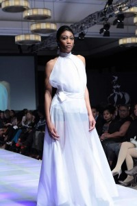 Alberta Zemyra, Barbizon of Houston instructor, walked in New York Fashion Week