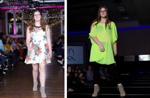 Alexys Beasley, Barbizon of Savannah grad, walked in Knoxville Fashion Week