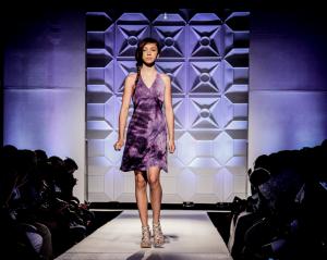 Amber Jones, Barbizon of Atlanta grad, booked the Walk Fashion Show in Atlanta walking for Jaylani's Boutique