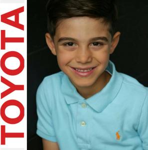 Amir Makhalfa, Barbizon Socal grad, booked a campaign for Toyota