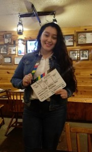 Anagabriel Garcia, Barbizon of Waco grad, booked the leading female role in the short film Textbook Psycho