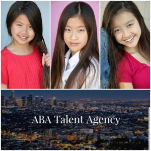 Angeline, Amanda and Janine Nguyen, Barbizon Socal grads and sisters, signed with ABA Talent Agency Los Angeles