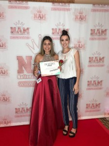 Aryanna Begin, Barbizon Southwest alum, competed at the National American Miss Phoenix pageant and won Top 15 in her division along with 1st Runner Up for the Spirit Award