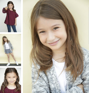 Ashlee Lopez, Barbizon Socal alum, signed with HRi Talent Agency for TV, commercials and print