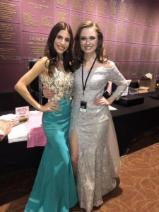 Ashlyn Ortiz and Naveah Frazee, Barbizon Southwest grads, competed in the Miss Colorado Pageant