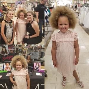 Asiyah M., Barbizon Southwest alum, walked in the Dillard's Fashion Show at the Chandler Mall