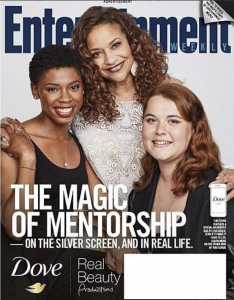 Barbizon Atlanta alum Chelsea Harris booked the cover of Entertainment Weekly