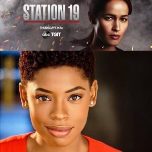 Barbizon Atlanta alum Chelsea Harris was cast as Nikki on ABC's Station 19