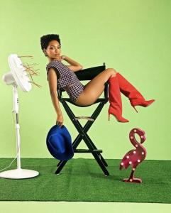 Barbizon Atlanta grad Logan Browning modeled for Cosmopolitan