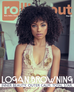 Barbizon Atlanta grad Logan Browning was featured on the cover of Rolling Out magazine and interviewed about her new show Dear White People on Netflix