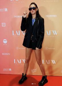 Barbizon Brandon grad Madison Martin walked in LA Fashion Week at for designer Jane Wu