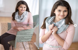 Barbizon Central Ohio grad Elaina Christie's booked an editorial feature in the June 2019 issue of Ooh Soo Glamorous Model Magazine