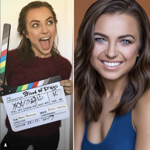 Barbizon Chicago alum Lauren Elyse Buckley just wrapped filming the horror film Blood of Drago set to release in April 2018