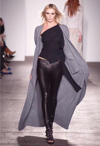 Barbizon Chicago grad Holly Ridings walked the runway for Calvin Klein at New York Fashion Week