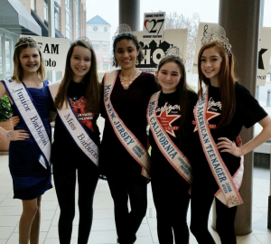 Barbizon Chique Titleholders spent the day volunteered at Interfaith Homeless Outreach Council