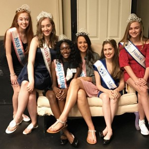 Barbizon Chique Titleholders volunteered at the Philadelphia Children's Festival