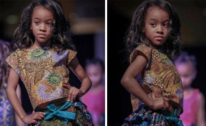 Barbizon Chique alum Aasiyah Ruqayyah walked the runway for fashion designer Saphari Designs at Atlantic City Fashion Week