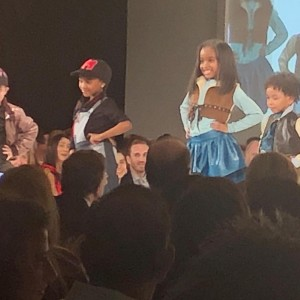 Barbizon Chique alum Aasiyah walked in the Jefferson Fashion Show