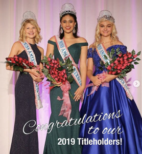 Barbizon Chique alum Abigail was crowned Miss American Teenager