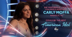 Barbizon Chique alum Carly Moffa performed on American Idol
