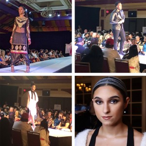 Barbizon Chique alumni walked in Atlantic City Fashion Week
