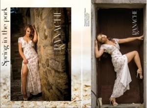 Editorial magazine feature of Chey from Panache and Style