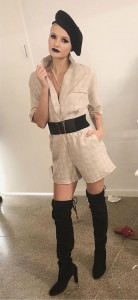 Barbizon Chique grad Lindsey walked in New York Fashion Week