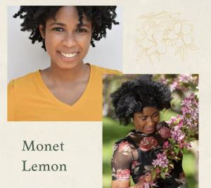 head shot and modeling shot of Monet LeMon