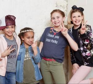 Barbizon Chique kid models walked in Main Line Fashion Week