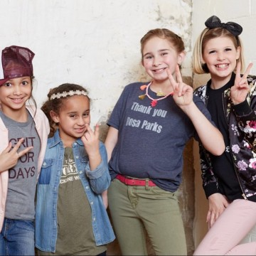 Barbizon Chique kid models walked in Main Line Fashion Week