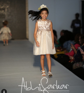 Barbizon Chique kid models walked in the Philly Fashion Week Kids Show2