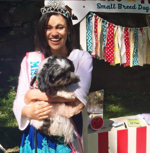 Barbizon Chique model Abigail attended the Brandywine Arts Festival representing Barbizon Chique and Miss American Teenager