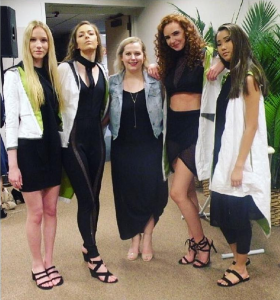 Barbizon Chique models booked a modeling job for University of Delaware's Synergy Fashion Group