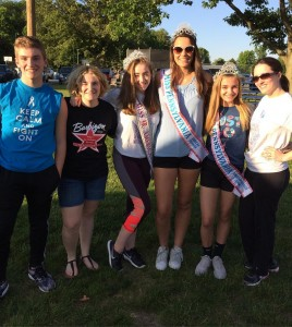 Barbizon Chique models participated in the Relay For Life event in Delaware County