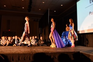 Barbizon Chique models walked at the Synergy Fashion show at the University of Delaware
