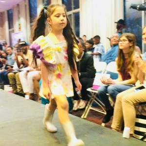 Barbizon Chique models walked in new designs for the Harcum College Fashion and Design2
