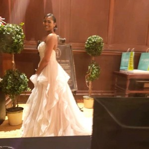 Barbizon Chique models walked in the Macy's Bridal Show in Center City1
