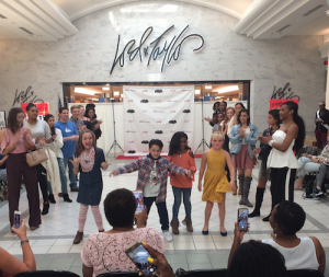 Barbizon Chique models walked in the Moorestown Mall Back To School Fashion Show1