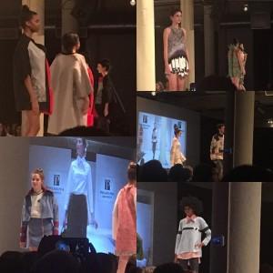 Barbizon Chique models walked in the Philadelphia University Fashion Show