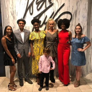 Barbizon Chique models walked the runway at Lord And Taylor in KOP for AIMS2K18
