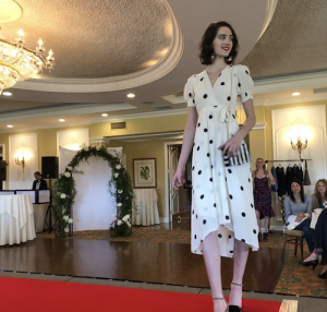 Barbizon Chique models walked the runway in the Main Line Fashionista Spring 2018 Fashion Show