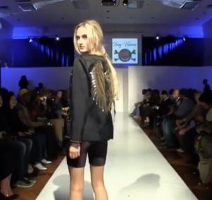 Barbizon Dallas grad Mikayla Hauck walked in New York Fashion Week