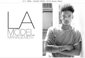 Barbizon Harrisburg alum Chad C signed with LA Model Management in Los Angeles, California