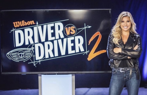 Barbizon Harrisburg alum Melanie Collins hosted Driver vs. Driver 2 on Golf Channel