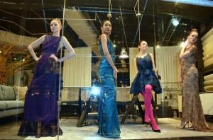 Barbizon Manhattan alum Aileen and Virginia booked a fashion presentation for designer Cenia Paredes