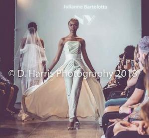 Barbizon Manhattan alum Anastasia booked a runway fashion show