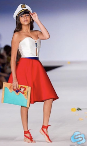 Barbizon Manhattan alum Ivory booked a runway fashion show