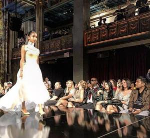 Barbizon Manhattan alum Madison walked in New York Fashion Week